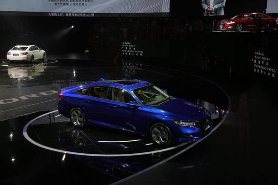 第十代雅阁正式发布 售价16.98-22.98万元