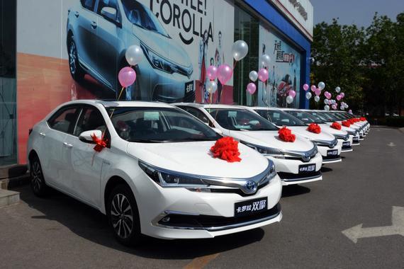 卡罗拉双擎正式进军北京网约车市场