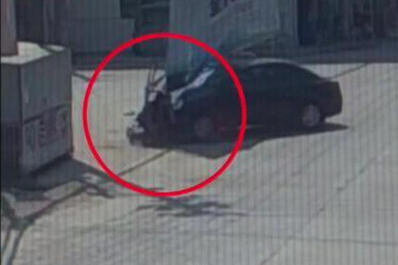 视频:科目一男子借车练手 撞人又碾压!
