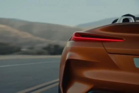 视频:宝马BMW Z4 Roadster概念车!