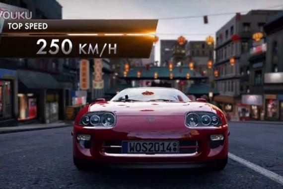 视频:经典车型 《极速世界》丰田supra再现