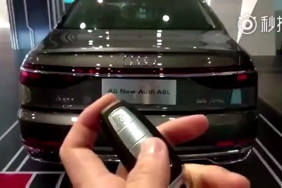 新奥迪A8L,炫酷的OLED尾灯