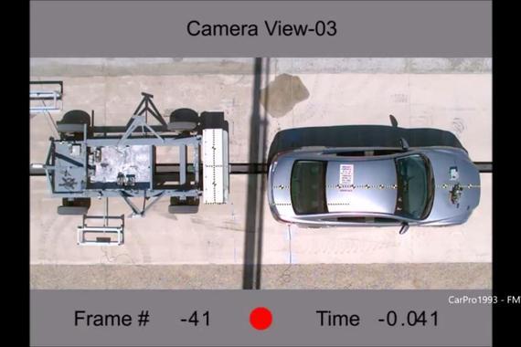 马自达6安不安全 看下它的追尾碰撞测试就知道了