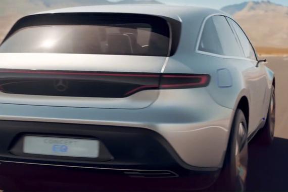 视频:奔驰发布纯电动SUV EQ概念车的全新宣传片