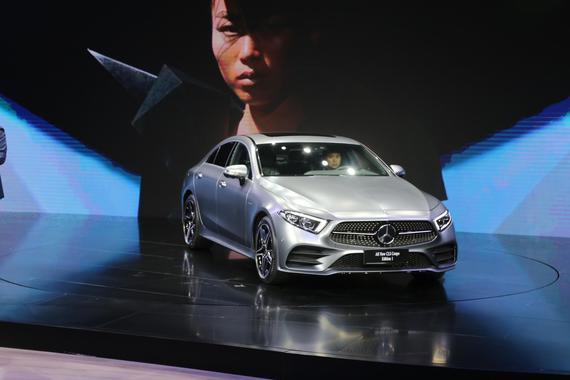 全新一代奔驰CLS上市 售80.88-83.88万