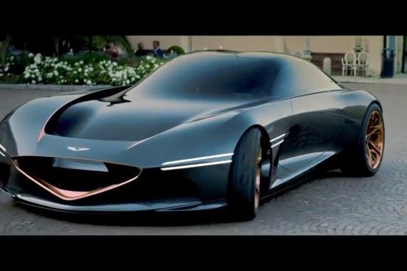 复古风的Genesis Essentia概念车实拍,撩到你了吗?