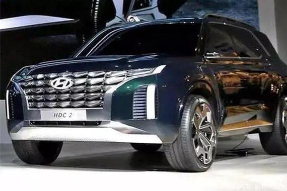 现代全尺寸SUV概念车亮相 代号HDC-2