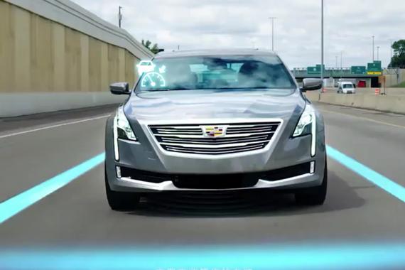 凯迪拉克CT6的超级智能驾驶系统