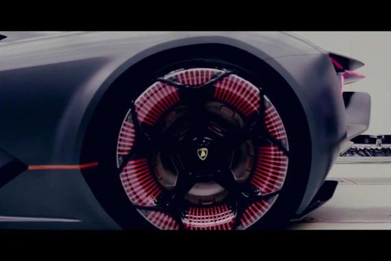 一枚科技牛 兰博基尼Terzo Millennio概念车
