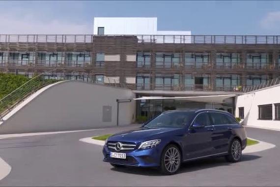视频:奔驰Mercedes全新C220d旅行版 科技感十足