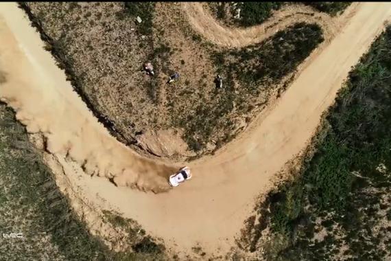 2018年WRC最精彩的过弯集锦