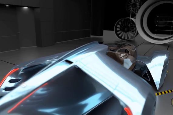 布加迪T99街道喷气式赛车概念车