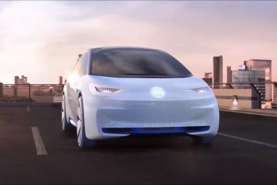 紧凑型轿车的新概念 大众I.D.纯电动概念车亮相