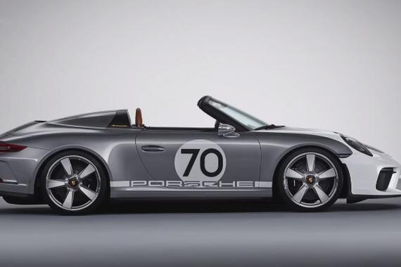 保时捷911 Speedster登场