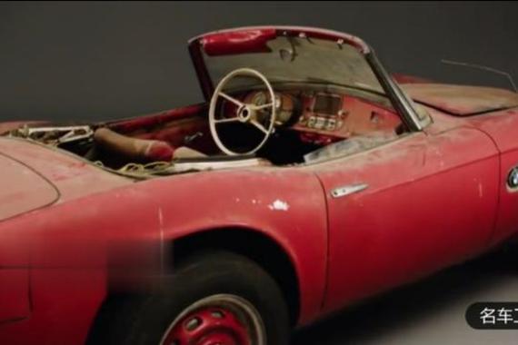 再现经典!翻新1968年宝马敞篷车