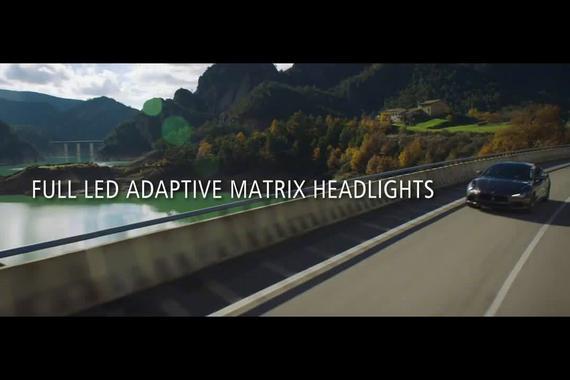 玛莎拉蒂新款LED自适应大灯