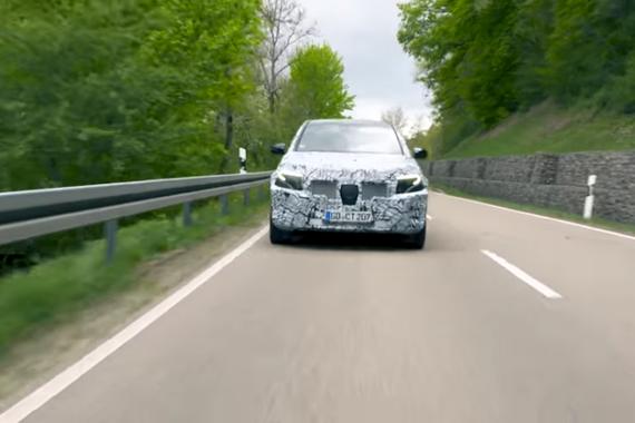 2019奔驰EQC:黑森林公路测试