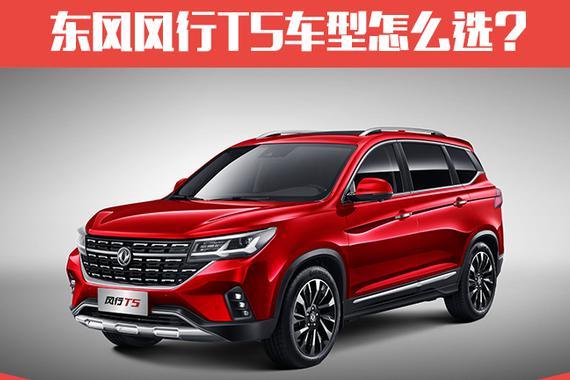 推荐230T CVT智尊型 东风风行T5购车手册