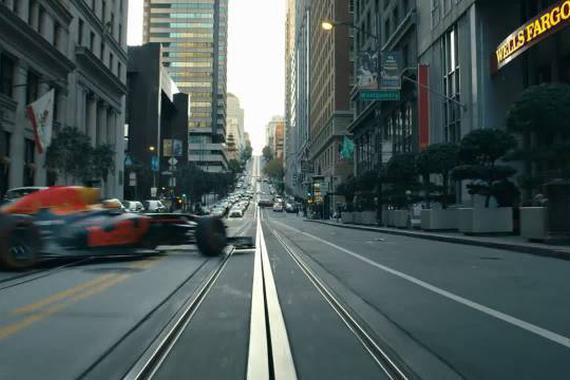 暴力街区 F1城市狂飙穿越大街小巷