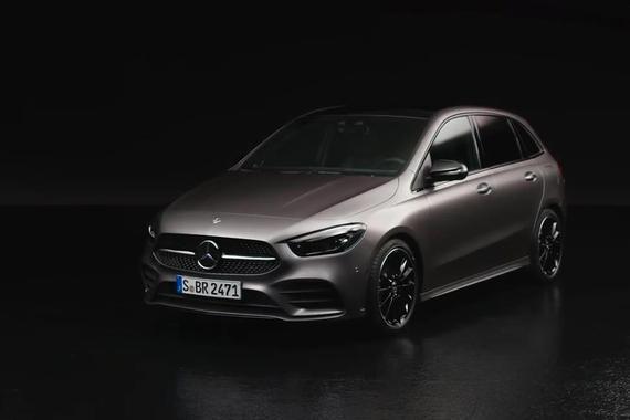巴黎车展:动感MPV风格 全新奔驰B级发布