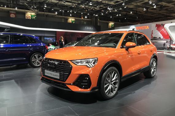 2018巴黎车展:全新一代奥迪Q3首发