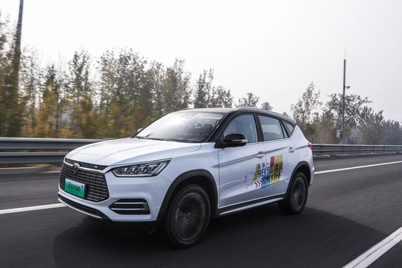 挑战环京1000公里 全新一代宋EV 500