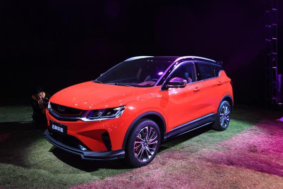 吉利全新SUV缤越正式上市 售7.88万元起
