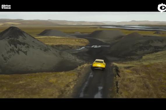 2019兰博基尼 Urus 穿越冰岛