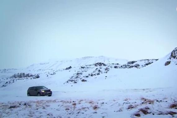 路虎发现雪地越野性能测试