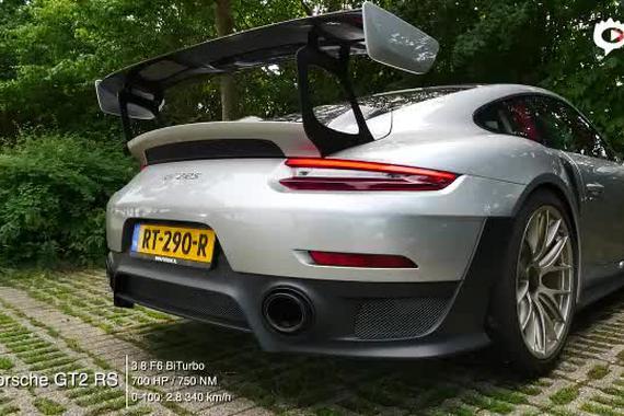 比918跑得还快 保时捷911 GT2 RS声浪实录