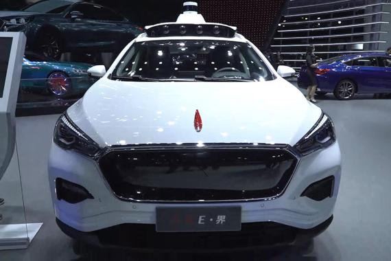 L4自动驾驶+纯电SUV 这才是红旗展台的最大亮点
