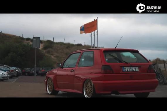 宽体火柴盒 大众 Golf MK2 Rallye