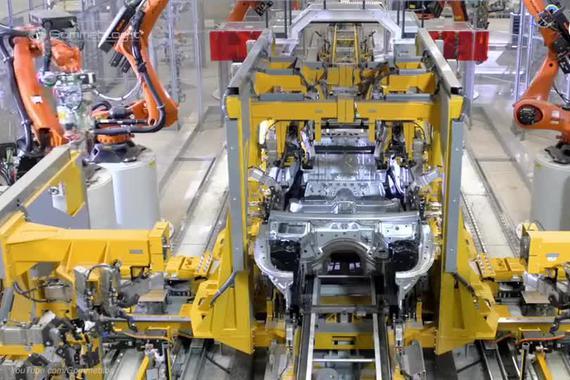 宝马7系的制造过程全纪录