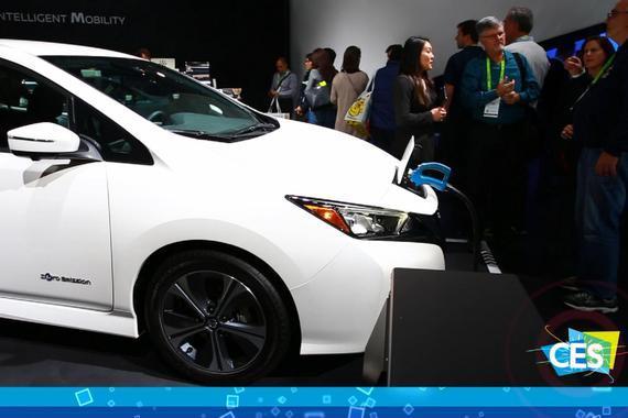 2019 CES:汽车变成充电宝 日产这技术你看眼熟不?