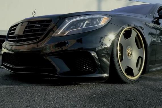 黑色恶魔登场 全新奔驰S级 S63 AMG