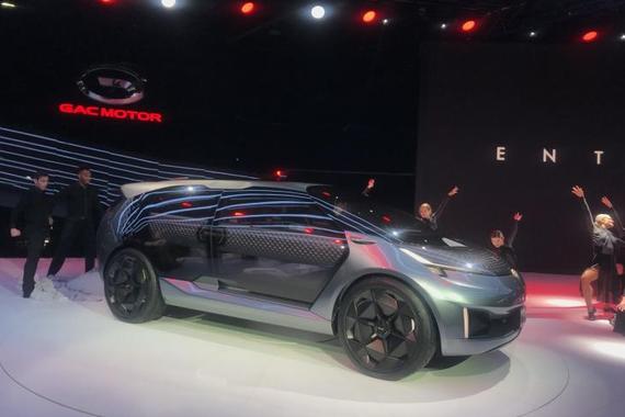 2019北美车展 广汽传祺ENTRANZE概念车