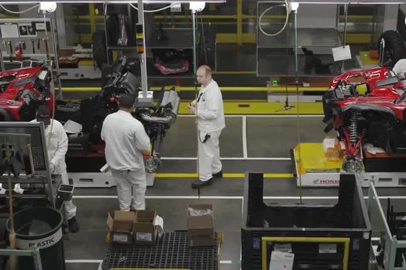 本田Talon 1000X和1000R是怎么被制造出来的?