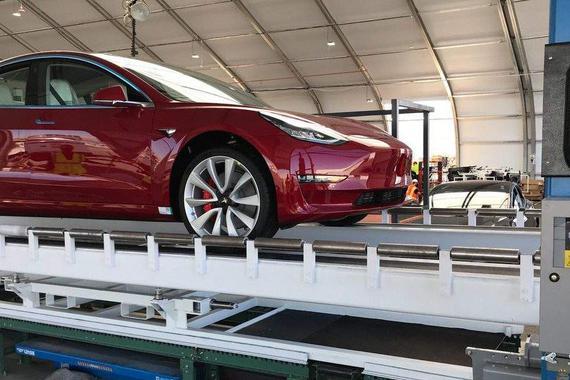 特斯拉2019年将生产50万辆汽车