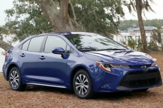 全新2020款丰田卡罗拉LE Hybrid登场