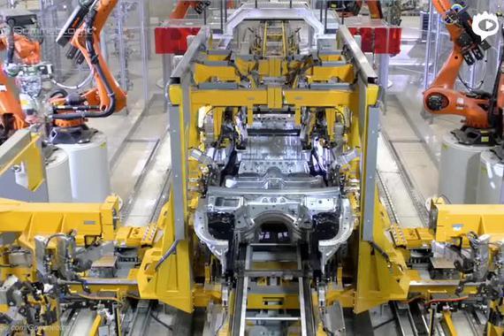 钢板变豪车 2019款宝马 BMW 7系工厂探秘