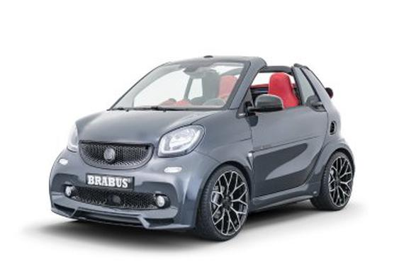 视频:绝非善茬的电动smart 2019款Brabus Ultimate E Shadow Edition