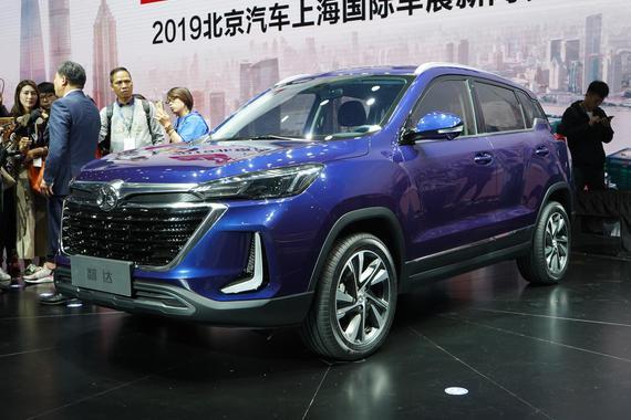 2019上海车展:北汽智达亮相 融入AI技术