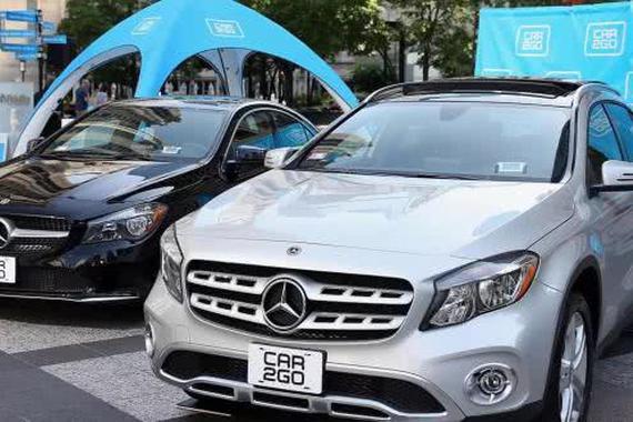 car2go汽车共享App遭黑客入侵 100多辆豪华汽车被窃