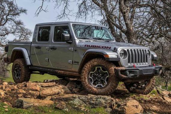 2020款吉普Jeep Gladiator 越野性能最强的皮卡!