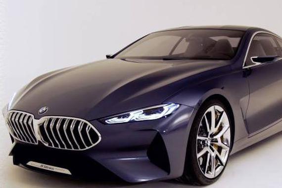 宝马8系概念车