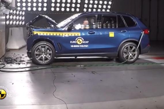 视频:超安全SUV!2019款全新宝马X5碰撞测试