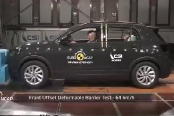 大众T-Cross欧洲安全测试5星