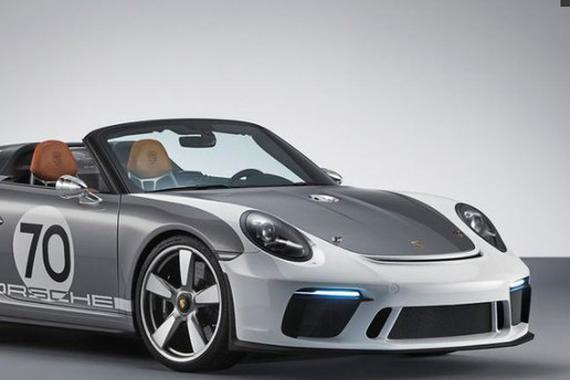 视频:致敬经典 2020款保时捷911 Speedster