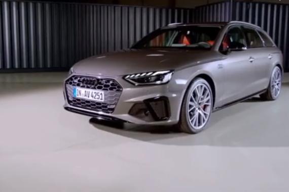 视频:造型犀利 2020款奥迪A4 Avant发布