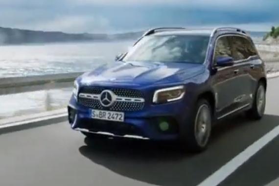 大尺寸7座 奔驰全新GLB SUV发布